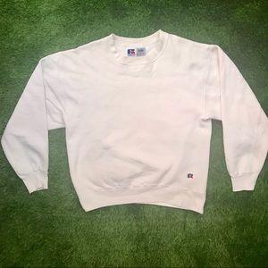 Vintage Russel Crewneck Long-sleeve Sweatshirt M